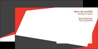 faire modele a imprimer enveloppe rouge noir moderne MLIG41846