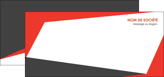 modele flyers rouge noir moderne MLGI41850