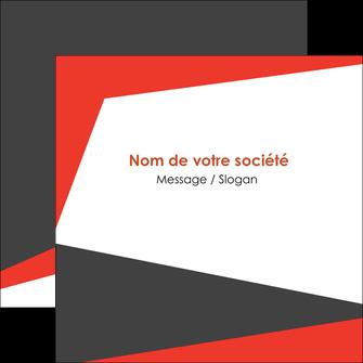 modele flyers rouge noir moderne MLGI41854