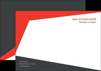modele flyers rouge noir moderne MLIG41858