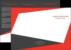 personnaliser maquette depliant 3 volets  6 pages  rouge noir moderne MLGI41860