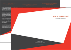 personnaliser maquette depliant 3 volets  6 pages  rouge noir moderne MLIG41860
