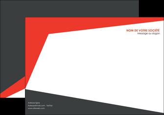 realiser affiche rouge noir moderne MLIG41864