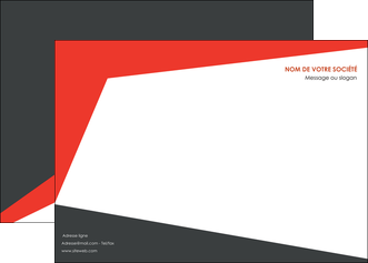modele affiche rouge noir moderne MLGI41866