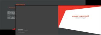 maquette en ligne a personnaliser depliant 2 volets  4 pages  rouge noir moderne MLGI41868