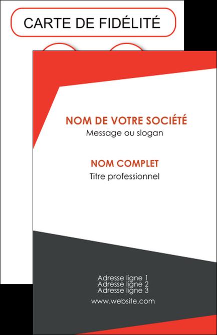 Personnaliser Modele De Carte Visite Rouge Noir Moderne MLGI41876