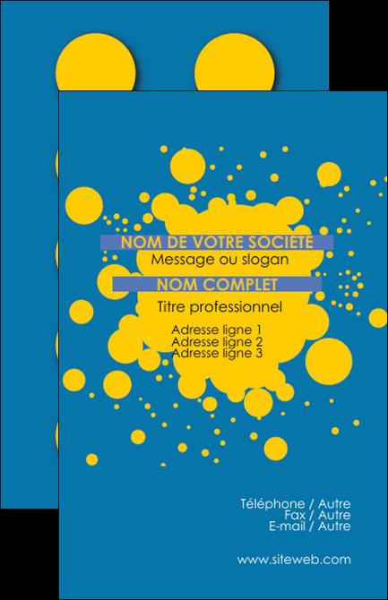 Faire Modele A Imprimer Carte De Visite Peinture Tache Decalle MLGI41966