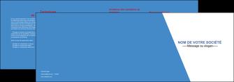 exemple depliant 2 volets  4 pages  texture contexture structure MIF42098