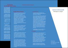 personnaliser maquette depliant 3 volets  6 pages  texture contexture structure MIF42110
