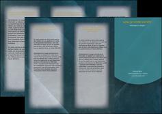 personnaliser modele de depliant 3 volets  6 pages  texture contexture structure MLGI42324