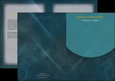 exemple depliant 2 volets  4 pages  texture contexture structure MLGI42340