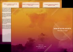 modele en ligne depliant 3 volets  6 pages  lune pleine lune tableau pleine lune MLIG42428