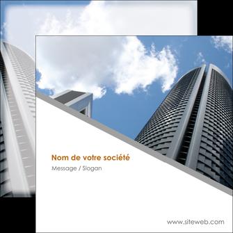 modele en ligne flyers agence immobiliere immeuble gratte ciel immobilier MLGI42568