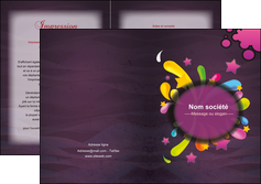 creation graphique en ligne depliant 2 volets  4 pages  texture contexture structure MLGI42592
