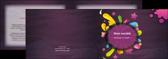 faire depliant 2 volets  4 pages  texture contexture structure MLGI42604