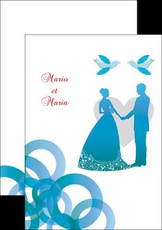 modele flyers mariage noces union MIS42834