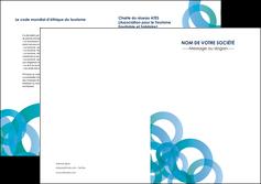 faire depliant 2 volets  4 pages  texture contexture structure MIF42848