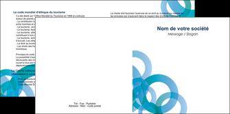 personnaliser modele de depliant 2 volets  4 pages  texture contexture structure MIF42852