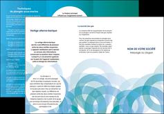 imprimer depliant 3 volets  6 pages  texture contexture structure MIF42874