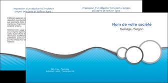imprimer depliant 2 volets  4 pages  texture structure courbes MLGI43386
