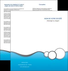 maquette en ligne a personnaliser depliant 2 volets  4 pages  texture structure courbes MLGI43388