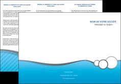 modele en ligne depliant 3 volets  6 pages  texture structure courbes MLGI43390