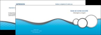 creer modele en ligne depliant 2 volets  4 pages  texture structure courbes MLGI43400