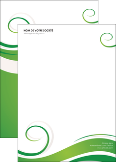 exemple affiche fleuriste et jardinage texture structure design MIF43650