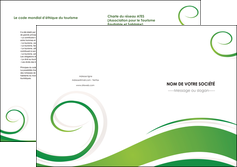 faire modele a imprimer depliant 2 volets  4 pages  fleuriste et jardinage texture structure design MIF43660
