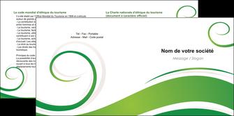 personnaliser modele de depliant 2 volets  4 pages  fleuriste et jardinage texture structure design MIF43664