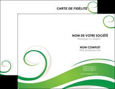 Commander cartes de visite vernis selectif Fleuriste & Jardinage Carte commerciale de fidélité cartes-de-visite-vernis-selectif Carte de visite Double - Portrait