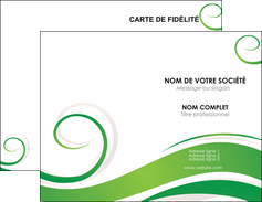 personnaliser modele de carte de visite fleuriste et jardinage texture structure design MIF43666