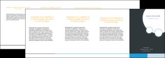 creer modele en ligne depliant 4 volets  8 pages  texture structure design MLIG43796