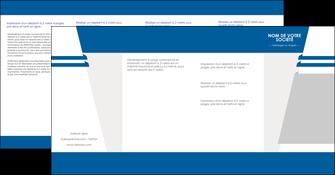 imprimerie depliant 4 volets  8 pages  texture structure courbes MLIG43844
