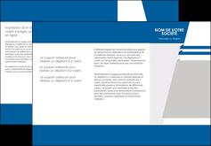 imprimerie depliant 3 volets  6 pages  texture structure courbes MLGI43860
