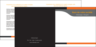 imprimerie depliant 2 volets  4 pages  texture structure courbes MLGI43990