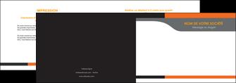 modele depliant 2 volets  4 pages  texture structure courbes MLGI44002