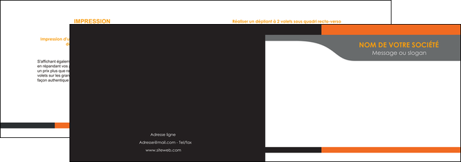 modele en ligne depliant 2 volets  4 pages  texture structure courbes MLGI44004