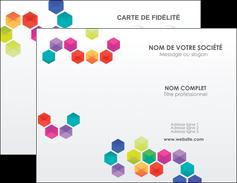 exemple carte de visite texture structure design MIF44128