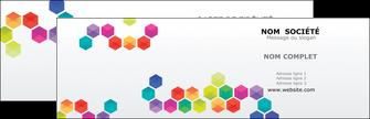 personnaliser modele de carte de visite texture structure design MIF44130
