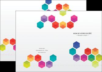 imprimerie pochette a rabat texture structure design MLGI44134