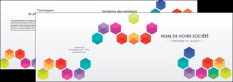 imprimer depliant 2 volets  4 pages  texture structure design MIF44138