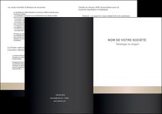 faire modele a imprimer depliant 2 volets  4 pages  texture contexture structure MLGI44214
