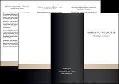 personnaliser modele de depliant 3 volets  6 pages  texture contexture structure MLGI44230