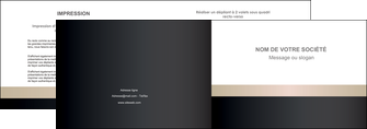 realiser depliant 2 volets  4 pages  texture contexture structure MLGI44238