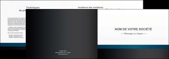 imprimer depliant 2 volets  4 pages  texture structure design MLIG44300