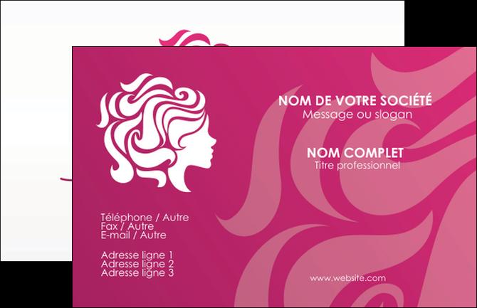Imprimer Carte De Visite Centre Esthetique Coiffure Salon MLGI44444