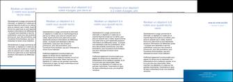 maquette en ligne a personnaliser depliant 4 volets  8 pages  texture structure design MIF44496