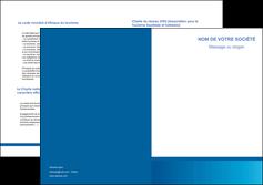 modele depliant 2 volets  4 pages  texture structure design MIF44500