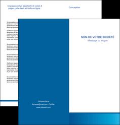 creer modele en ligne depliant 2 volets  4 pages  texture structure design MIF44512